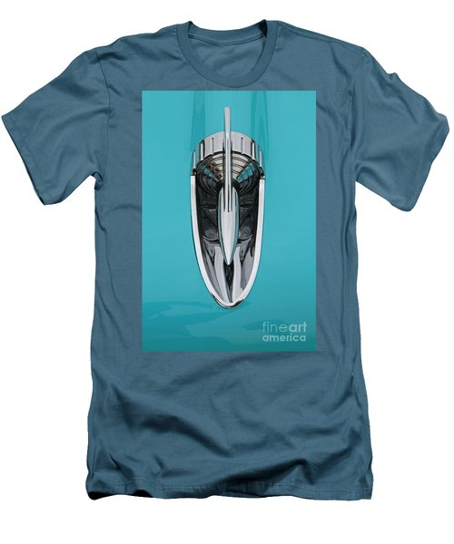 1957 Chevy Hood Ornament Men's T-Shirt (Athletic Fit)