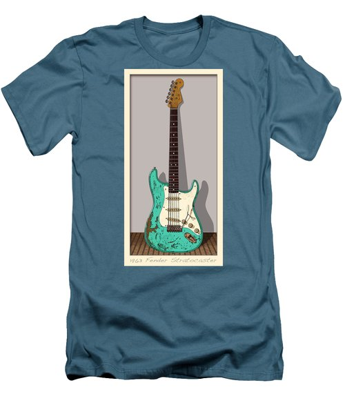 Men's T-Shirt (Slim Fit) featuring the digital art 1963 by WB Johnston