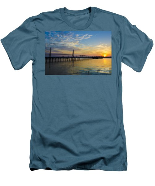Men's T-Shirt (Slim Fit) featuring the photograph Magical Blue Skies by Dale Powell