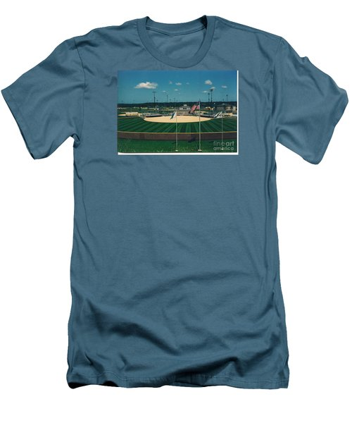 Baseball Diamond Men's T-Shirt (Athletic Fit)