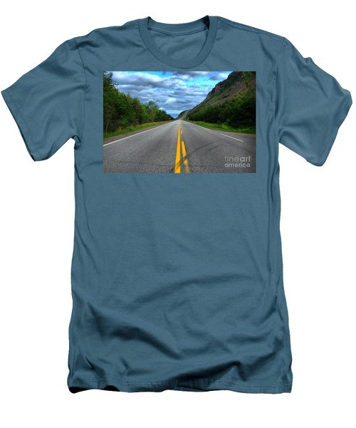 Men's T-Shirt (Slim Fit) featuring the photograph Cabot Trail by Joe  Ng
