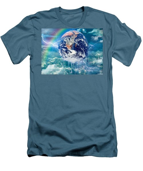 Climate Change Men's T-Shirt (Athletic Fit)