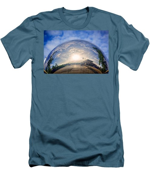 Distorted Reflection Men's T-Shirt (Athletic Fit)