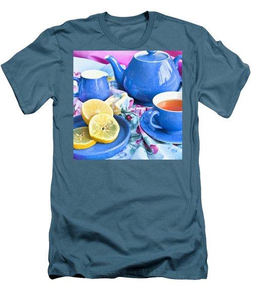 Do You Take Lemon? Men's T-Shirt (Slim Fit) by Theresa Tahara
