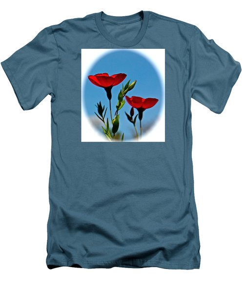 Flower 6 Men's T-Shirt (Athletic Fit)