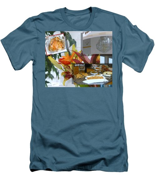 Holiday Collage Men's T-Shirt (Athletic Fit)