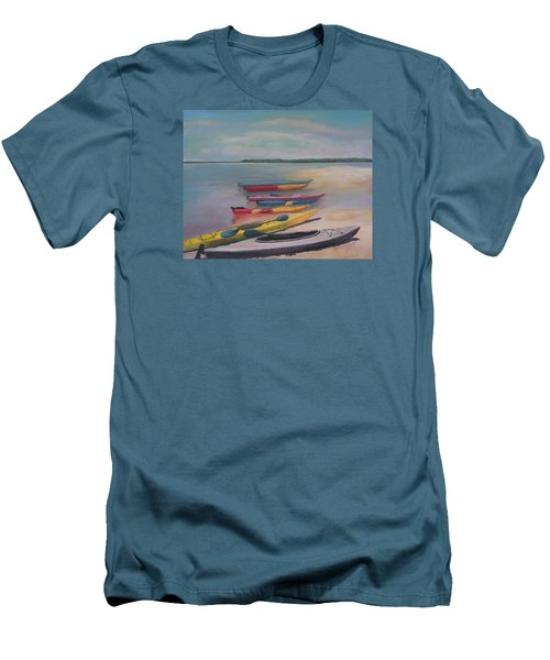 Kayaking Trip Men's T-Shirt (Athletic Fit)
