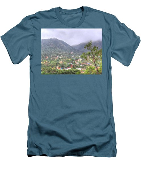 Men's T-Shirt (Slim Fit) featuring the photograph Manitou To The South II by Lanita Williams