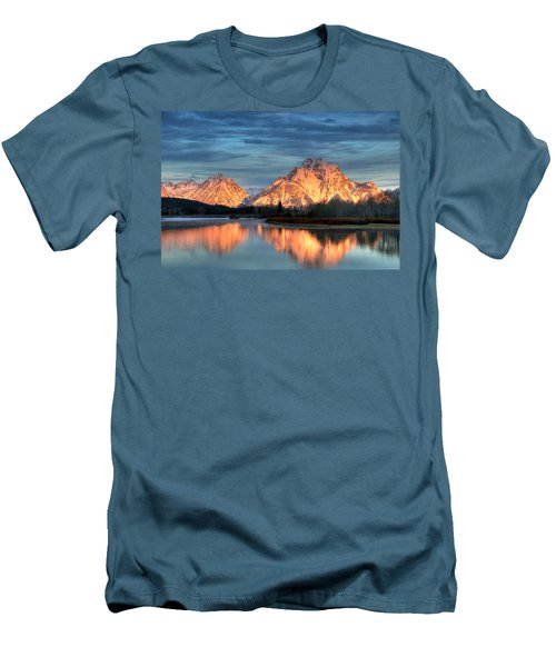 Mount Moran Men's T-Shirt (Athletic Fit)