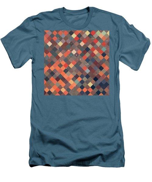 Pixel Art Men's T-Shirt (Slim Fit)
