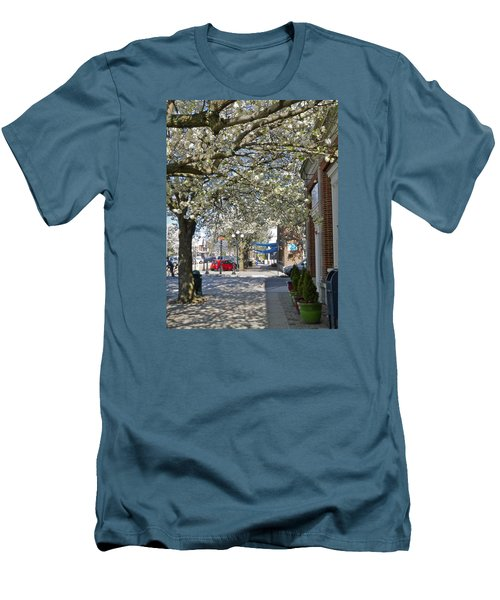 Small Town Saturday 2 Men's T-Shirt (Slim Fit)