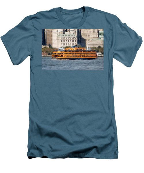 Staten Island Ferry Men's T-Shirt (Athletic Fit)