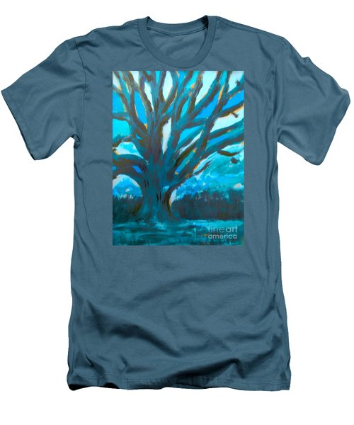 The Blue Tree Men's T-Shirt (Athletic Fit)