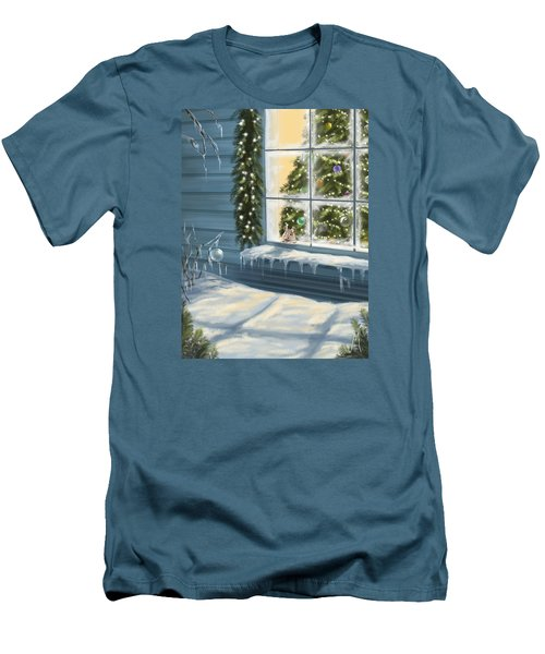 Waiting... Men's T-Shirt (Slim Fit) by Veronica Minozzi