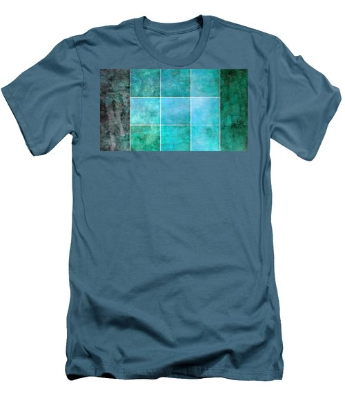 3 By 3 Ocean Men's T-Shirt (Slim Fit) by Angelina Vick