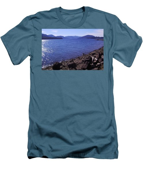 Lakes 2 Men's T-Shirt (Athletic Fit)