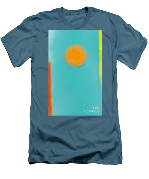 Lily Pond Men's T-Shirt (Slim Fit) by Anita Lewis