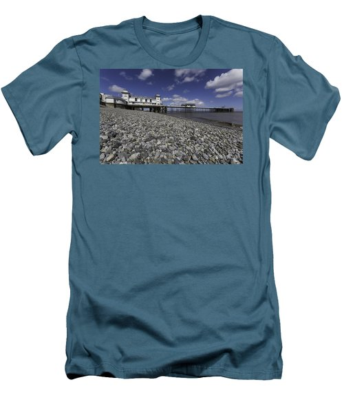 Penarth Pier 2 Men's T-Shirt (Slim Fit)