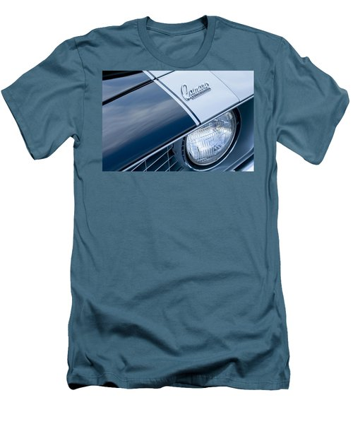 1969 Chevrolet Camaro Z-28 Emblem Men's T-Shirt (Slim Fit) by Jill Reger