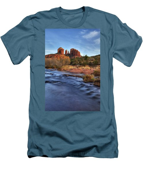 Cathedral Rocks In Sedona Men's T-Shirt (Athletic Fit)