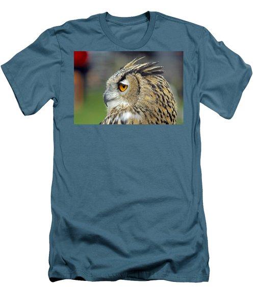 European Eagle Owl Men's T-Shirt (Athletic Fit)