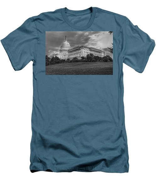 Men's T-Shirt (Slim Fit) featuring the photograph Capitol Building by Peter Lakomy