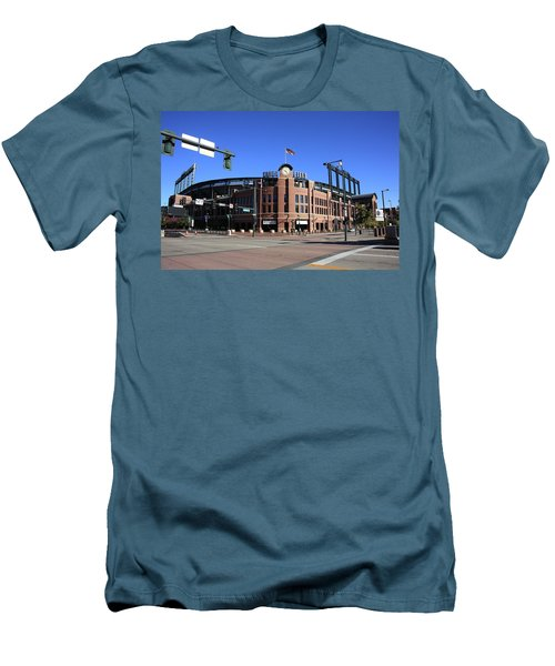 Coors Field - Colorado Rockies Men's T-Shirt (Athletic Fit)