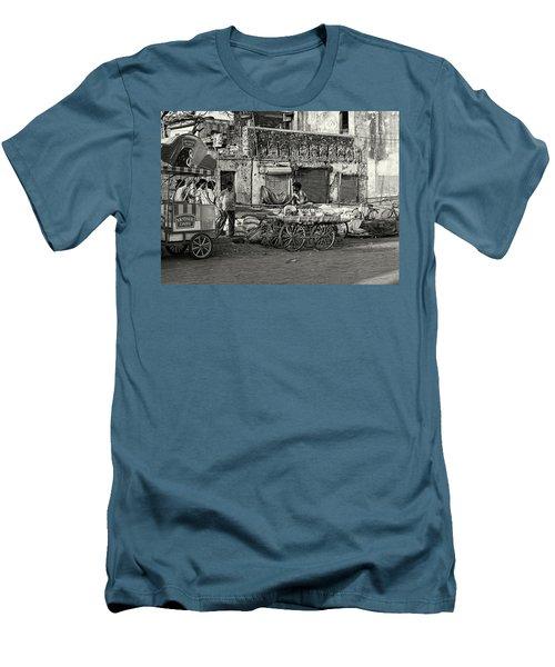A Chat Among Friends Men's T-Shirt (Athletic Fit)