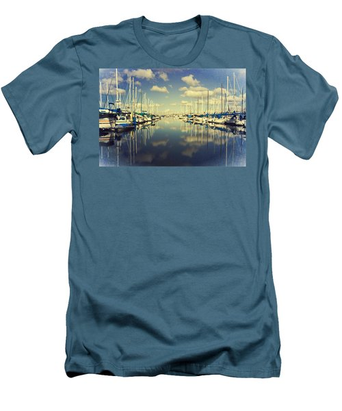 A Cloud Here A Cloud There Men's T-Shirt (Slim Fit) by Heidi Smith