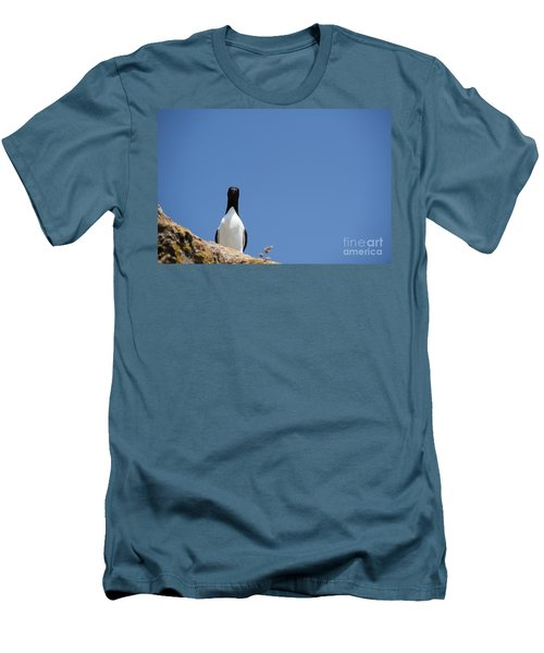 A Curious Bird Men's T-Shirt (Athletic Fit)