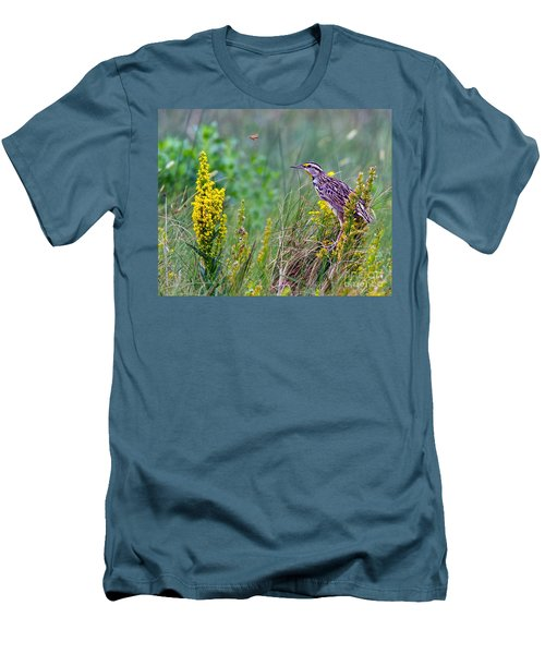 A Golden Opportunity Men's T-Shirt (Slim Fit) by Gary Holmes