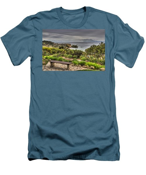 A Grand Vista Men's T-Shirt (Slim Fit) by Heidi Smith