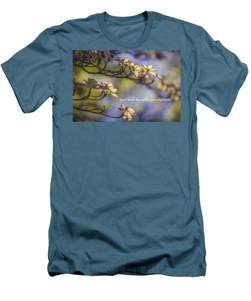 A Grateful Heart Men's T-Shirt (Athletic Fit)