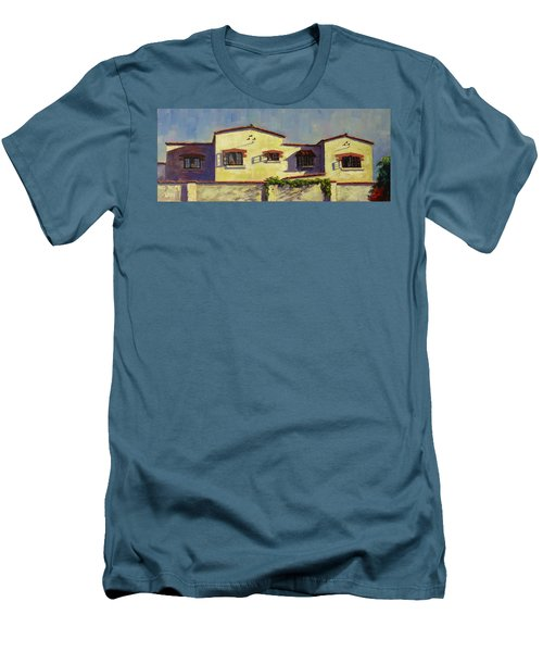 A Home In Barranco,peru Impression Men's T-Shirt (Athletic Fit)