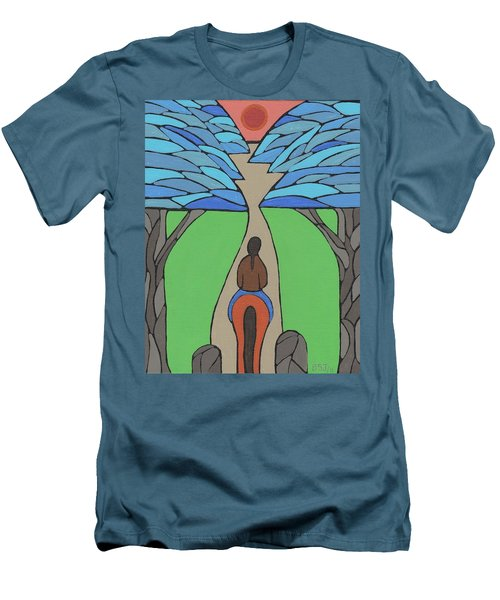 A Horse Of A Different Colour Men's T-Shirt (Slim Fit) by Barbara St Jean