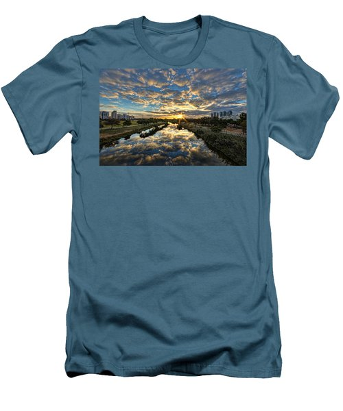A Magical Marshmallow Sunrise  Men's T-Shirt (Athletic Fit)
