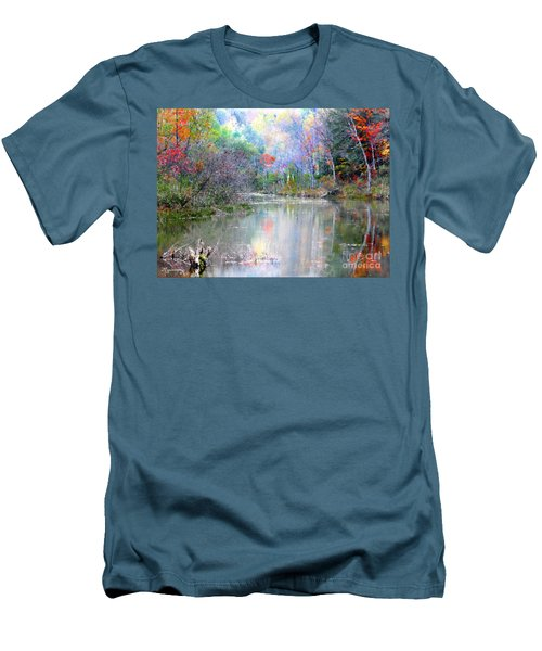 A Monet Autumn Men's T-Shirt (Athletic Fit)