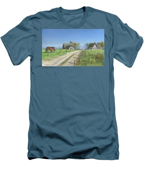 A New Beginning Men's T-Shirt (Slim Fit) by Mike Brown