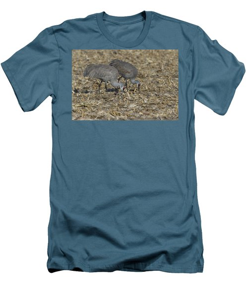 A Pair Of Sandhill Cranes Men's T-Shirt (Athletic Fit)