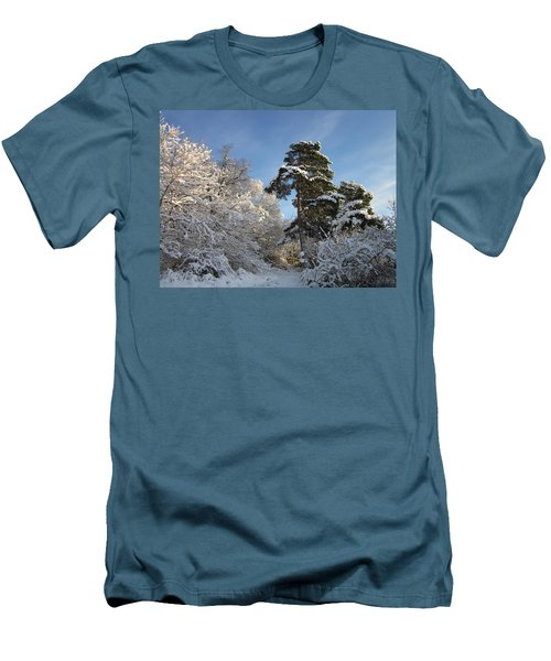 A Perfect Winterday Men's T-Shirt (Athletic Fit)