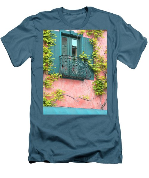 Room With A View Men's T-Shirt (Slim Fit) by Brooks Garten Hauschild