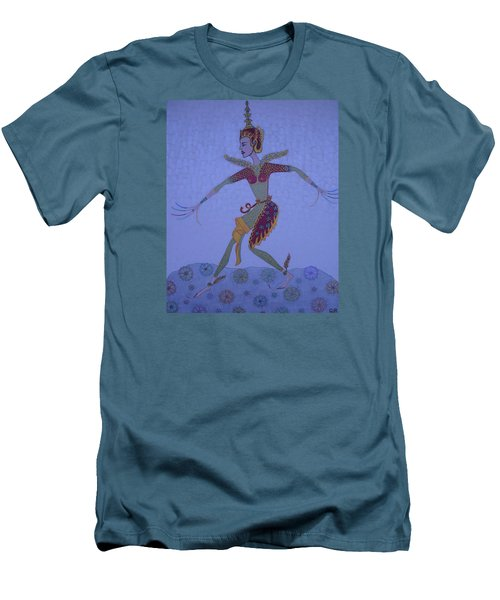 A Wild Dance Of A Nymph Men's T-Shirt (Slim Fit) by Marie Schwarzer