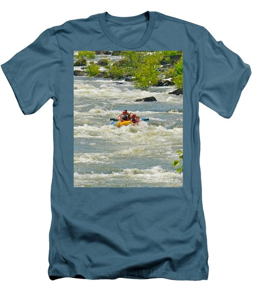 A Wild Ride Men's T-Shirt (Slim Fit) by Carol  Bradley