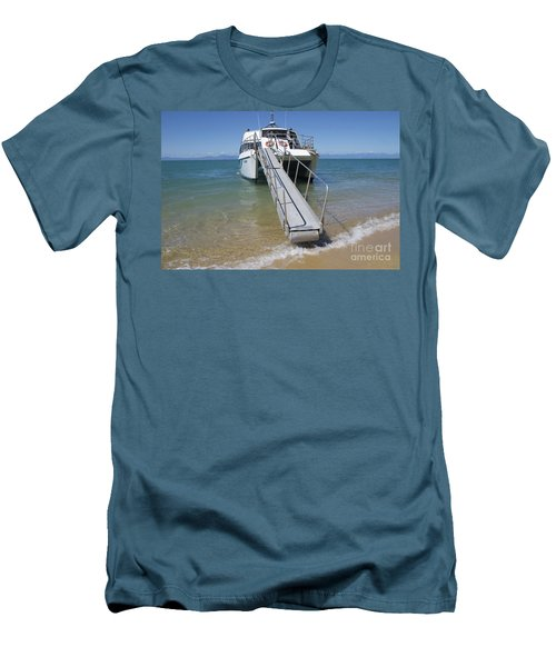 Abel Tasman Water Taxi Men's T-Shirt (Athletic Fit)