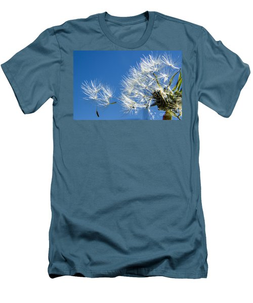 About To Leave - Dandelion Seeds Men's T-Shirt (Athletic Fit)