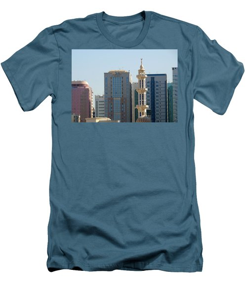 Abu Dhabi City Center Men's T-Shirt (Athletic Fit)