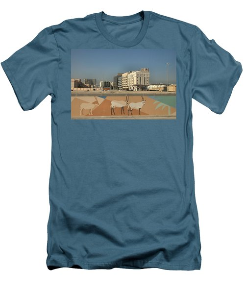Abu Dhabi Outskirts Men's T-Shirt (Athletic Fit)