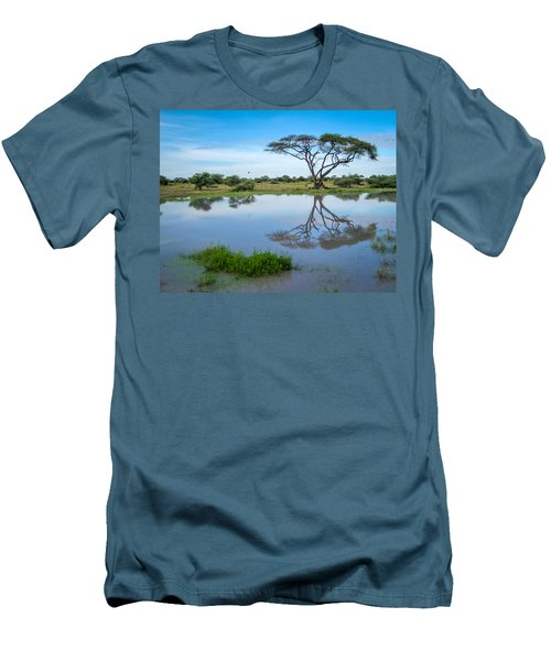 Acacia Tree Men's T-Shirt (Athletic Fit)