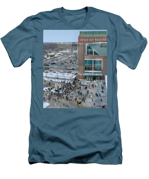 After A Winter Packers Game Men's T-Shirt (Athletic Fit)