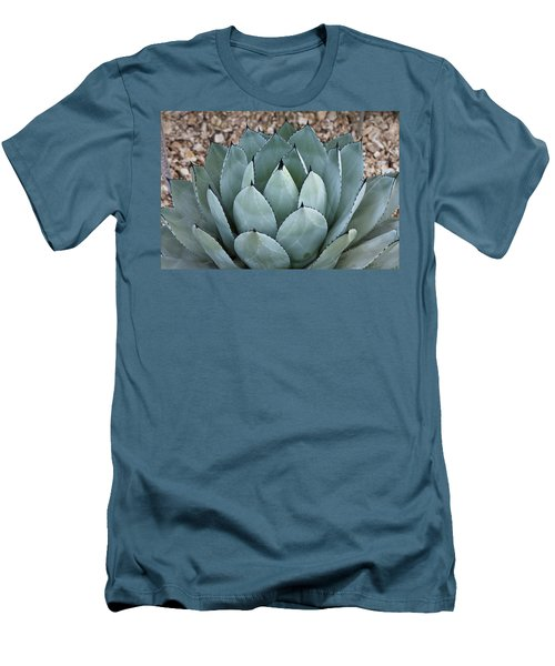 Men's T-Shirt (Slim Fit) featuring the photograph Agave by Lana Enderle